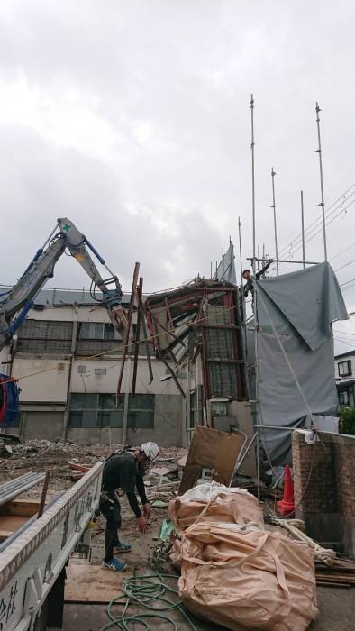 京都市学校施設解体工事1