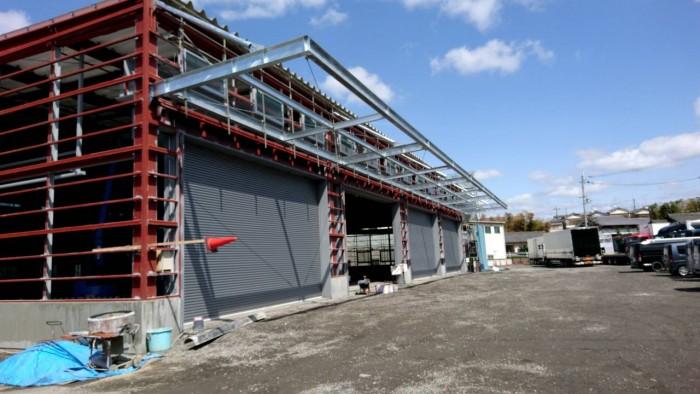 枚方市の新築工場 (4)