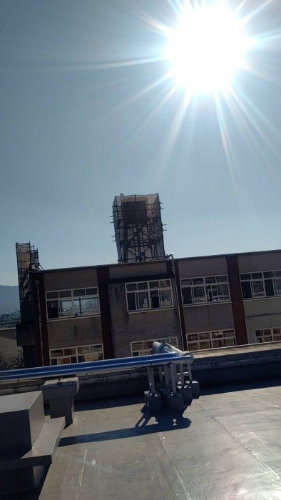 山科区の小学校の設備足場と、お世話になってる解体屋さんのお手伝い4
