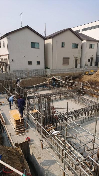 山科区新築マンション工事4