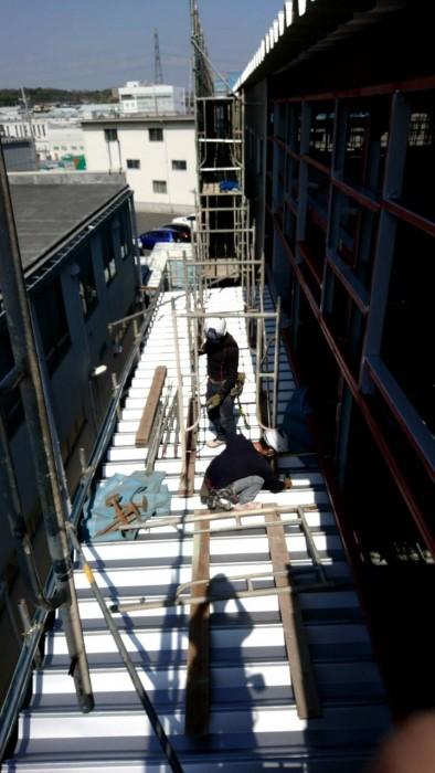 枚方市の新築工場 (3)