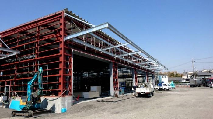 枚方市の新築工場