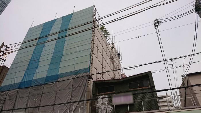 大阪、ビル解体工事4