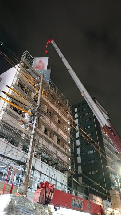 大阪、ビル解体工事2