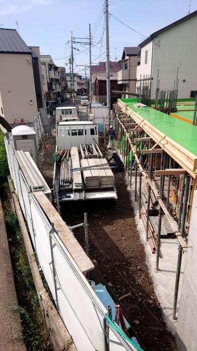 山科区新築マンション工事5