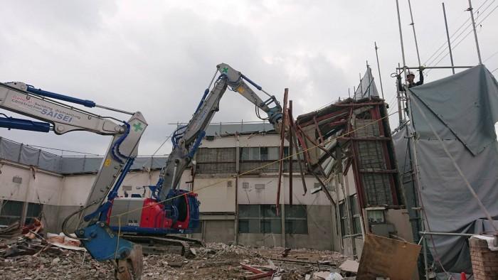 京都市学校施設解体工事2