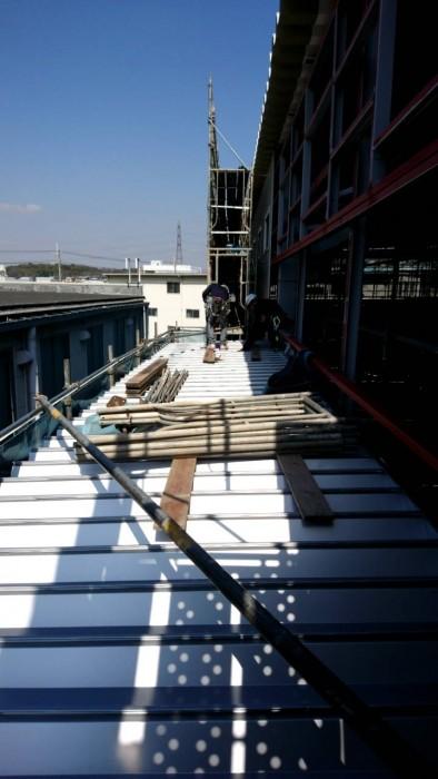 枚方市の新築工場 (2)