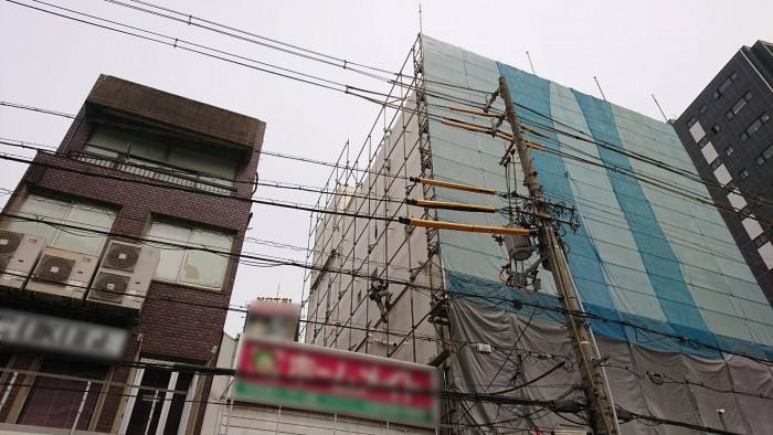 大阪、ビル解体工事5